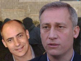 Anders (Director de Prensa y protocolo) y Aviles